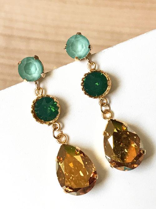 pendientes-mini-trinidad-verde
