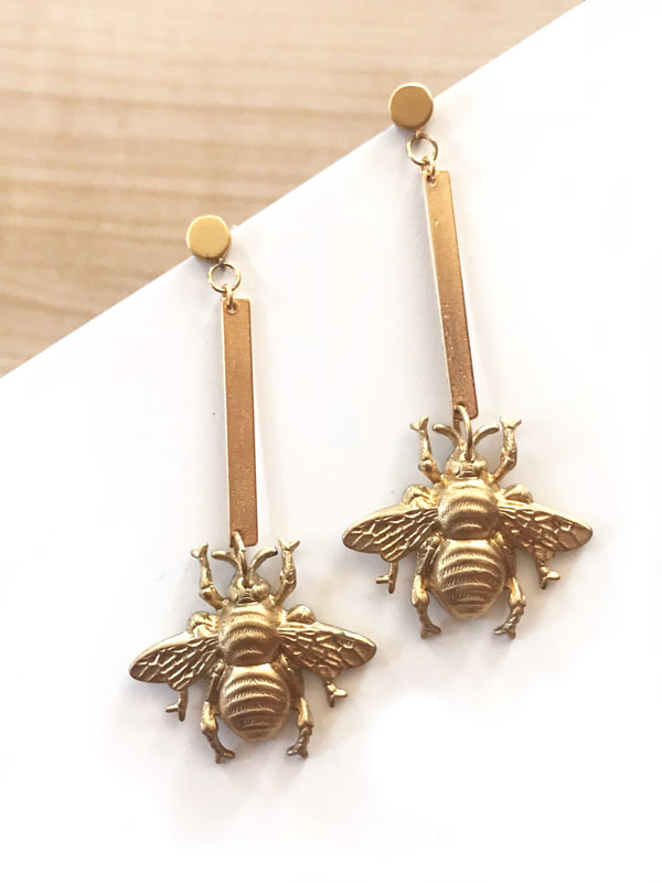 pendientes-abeja-bee-yourself-miss-fashionista