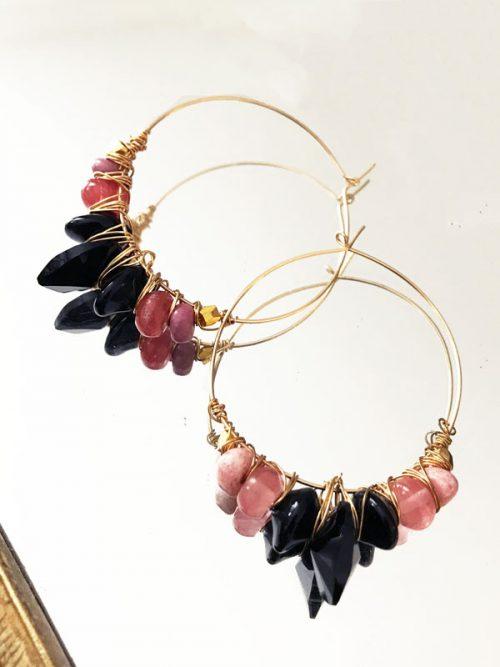 argollas-victoria-rosa-negro