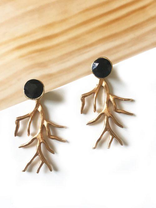 pendientes-coral-negro-miss-fashionista