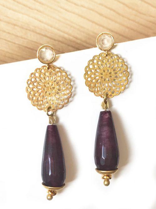pendientes-roseton-violeta-miss-fashionista-jade