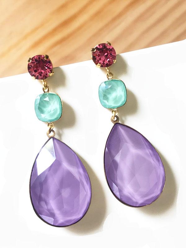 pendientes-trinidad-candy-violeta-mint-rosa
